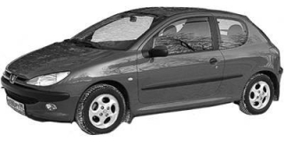Peugeot 206 (2A/C/H/J/S) (1998 - 2012)